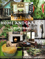 Home and Garden Coupon Code
