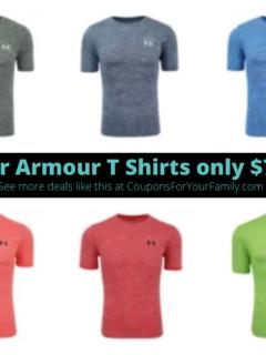 Under Armour T Shirts Coupon code