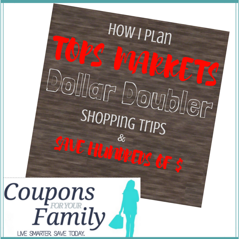 Tops Dollar Doublers shopping trips