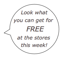 Store Freebie Roundup for week of 10/7—more than 25 items for FREE