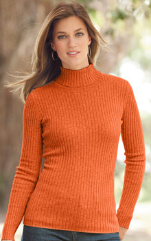 Chadwick Clearance --Ribbed Turtleneck Sweaters for only $8.99!! |