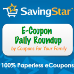 Saving Star E-Coupon Daily Round Up
