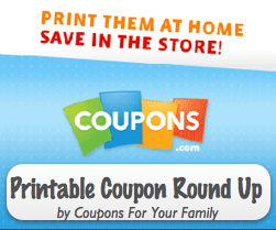 Coupons.com Printable Coupon Roundup