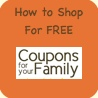 Get this weeks list of items you can get for FREE shopping with coupons