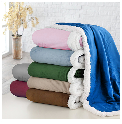 1 Sale A Day Deals 11/30– Reversible Throw Blanket only $7.99!