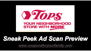 Screen shot 2013 02 28 at 10.54.00 AM Tops Weekly Sales Ad and Coupons –Sneak Preview starting 3/10  In Ad Coupon for Health & Beauty, 4 Instant Save Deals & more