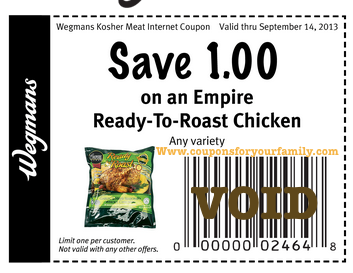 photograph relating to Wegmans Printable Coupons referred to as Wegmans discount coupons august 2018 : Ninja cafe nyc discount codes