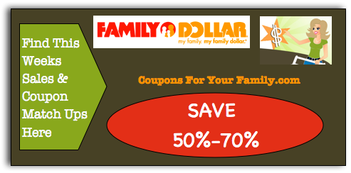 Family Dollar Coupon Matchups Nov 8 – 27:  B1G1 Oreo Cookies, Ritz Crackers, Scrubbing Bubbles Products & more