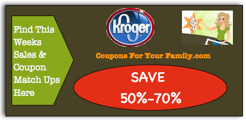 Kroger Coupon Matchups