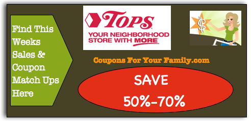 Tops Coupon Matchups and Tops Coupon Deals