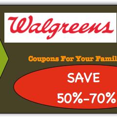 Walgreens Coupon Matchups