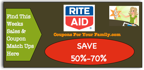 Check out the Rite Aid Midweek 4 Day Special Dec 9 – 12