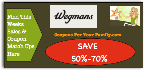 Wegmans Coupon Matchups for Buffalo for Current Week