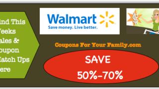 Walmart Coupon Matchups