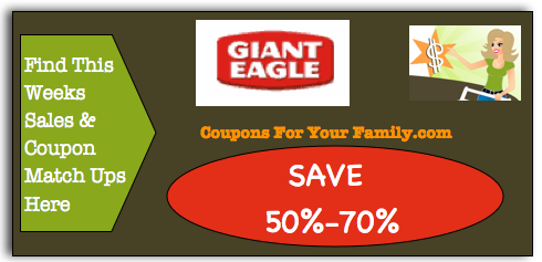 Giant Eagle Coupon Matchups Oct 20 – 26:  $0.50 Sugardale Meat Hot Dogs, $1.50 Kellogg's Cereal, $1.13 Domino Sugar & more
