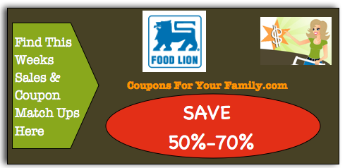 Food Lion Coupon Matchups