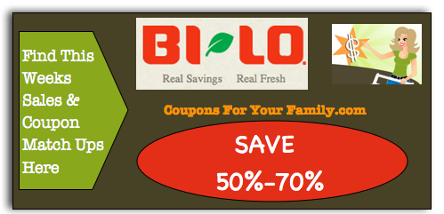 BiLO Coupon Matchups