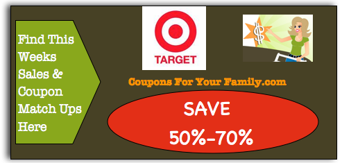 Target coupon Matchups