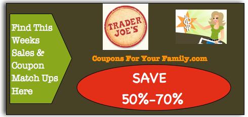 Trader Joes coupon matchups