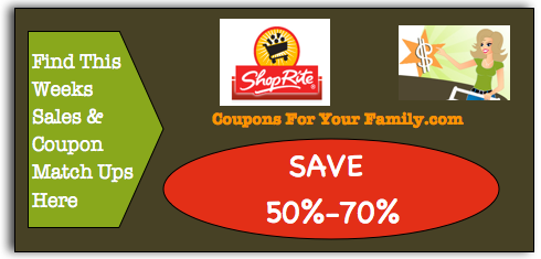 Shop Rite Coupon Matchups