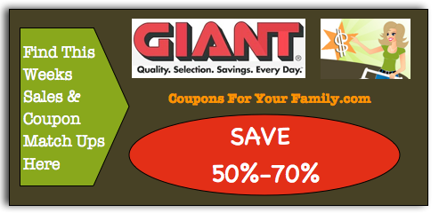 Giant Coupon Matchups
