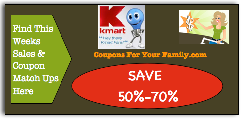 Kmart Coupon Matchups