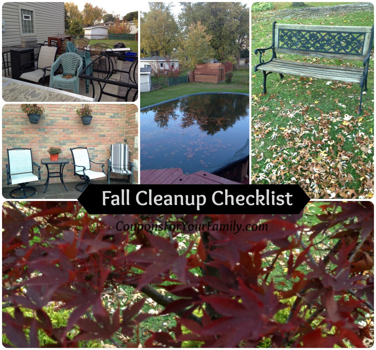 Your Fall Cleanup Checklist for your home… Are Your Ready?
