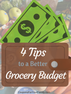4 Tips to a Better Grocery Budget