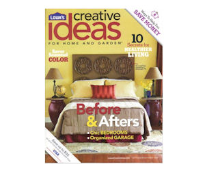 New Freebies Offer: Start a Free Subscription to Lowe's Creative Ideas Magazine