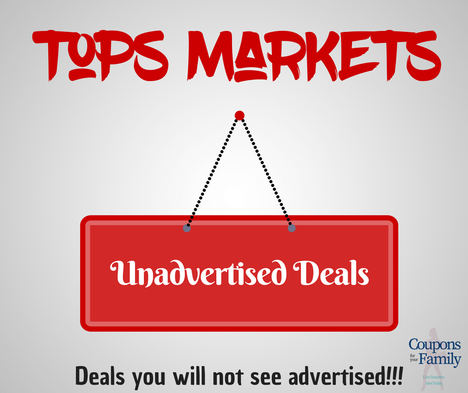 More than 80 Tops Unadvertised Deals not found in the weekly ad! (Updated 6/19)