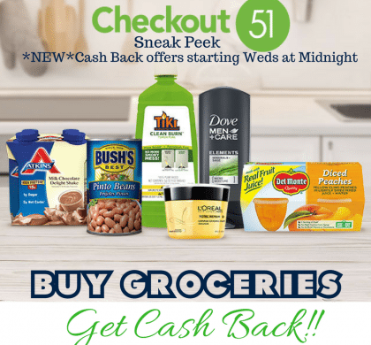 This weeks new Checkout 51 offers – save on Dove Men Care, Sargento, Quaker, Zantac and more! !!