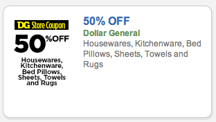 Dollar General Coupons: 50% off Coupon for Select Home Products, Get a Toaster and Blender for only $17.50!!
