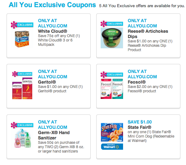 All You Exclusive Coupons