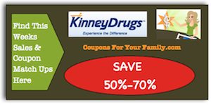 Kinney Drugs Coupon Matchups