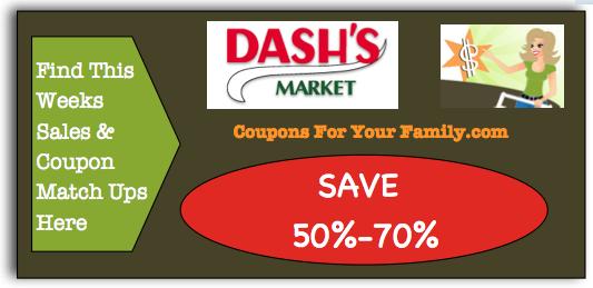 Dashs Coupon Matchups