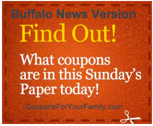 Sunday Coupon Preview for Buffalo