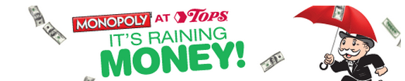 Tops Online Monopoly Game Coupons