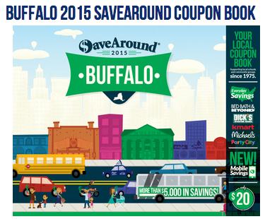 Save Around coupon Book
