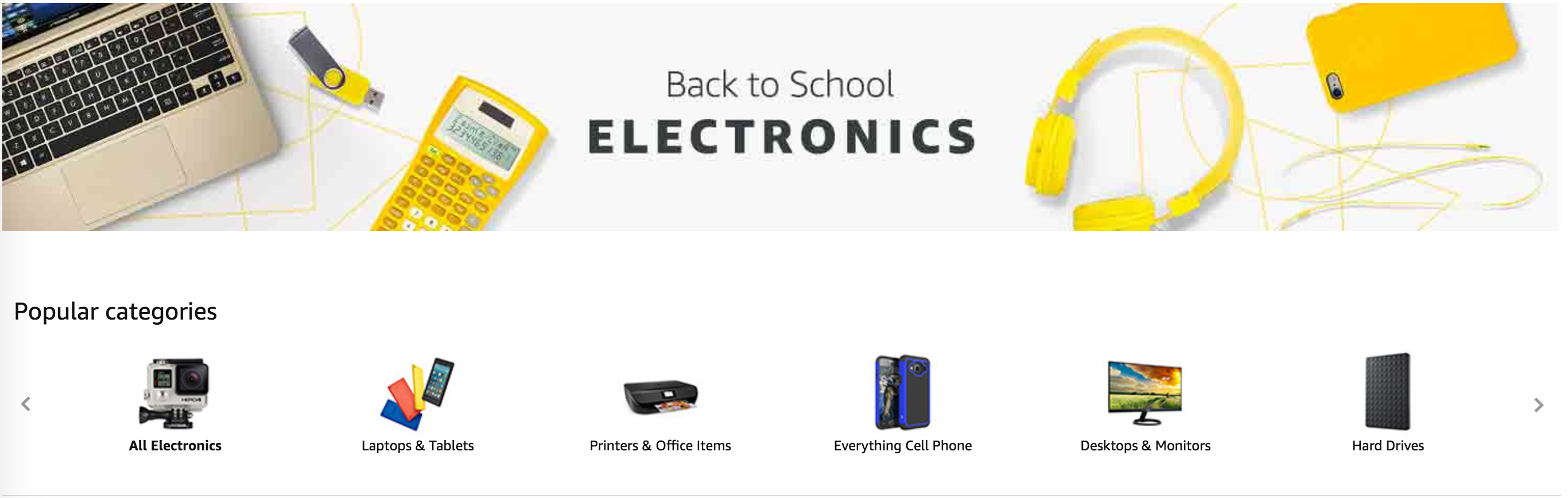 Back to School Electronics