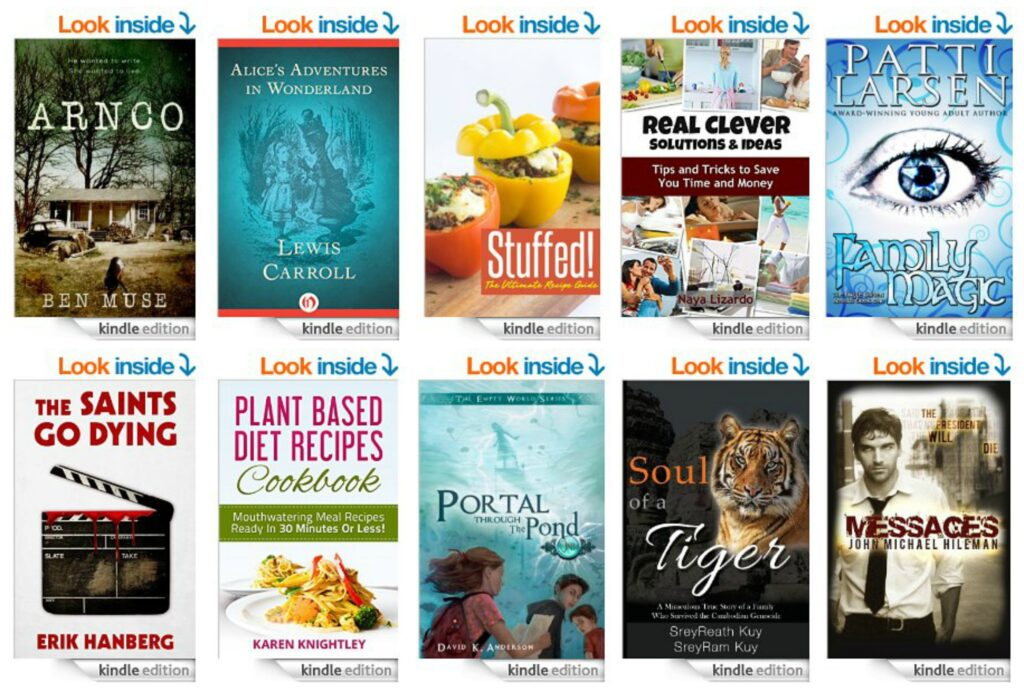 10 Free Kindle Books 8-27-14