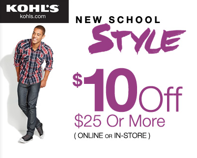 Kohls Coupon Code and Deals