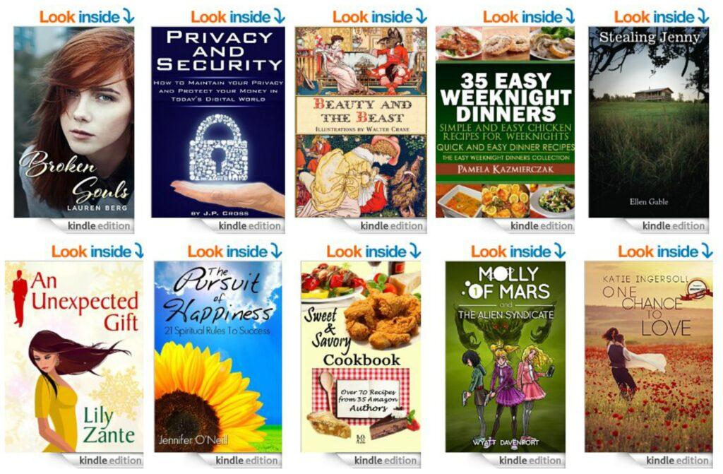 10 Free Kindle Books 9-12-14