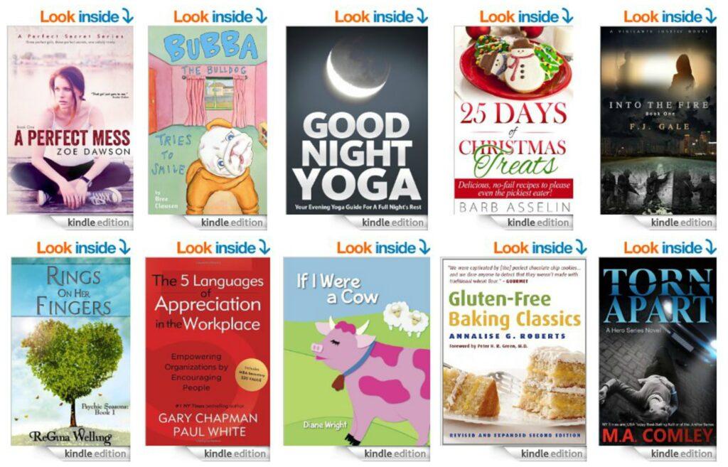 10 Free Kindle Books 9-13-14
