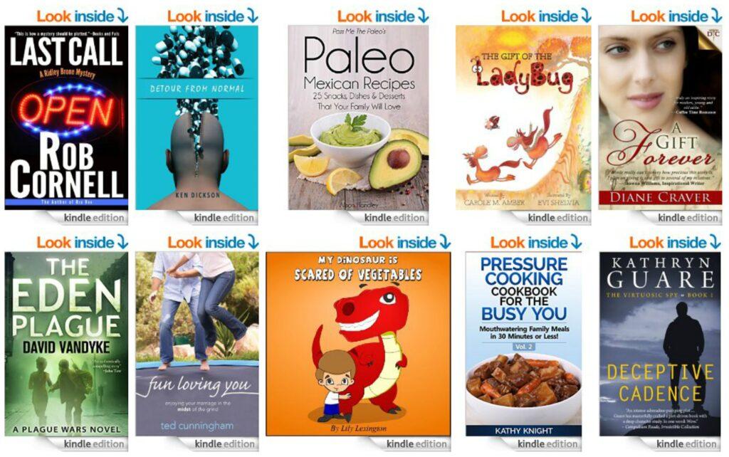 10 Free Kindle Books 9-16-14