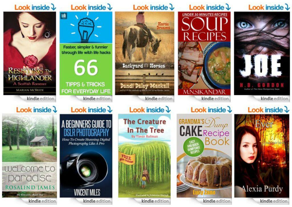 10 Free Kindle Books 9-2-14
