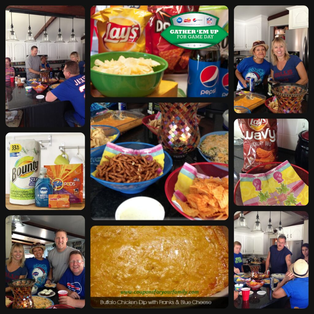 Football Party Game Day Prep, Easy Party Food AND A $25