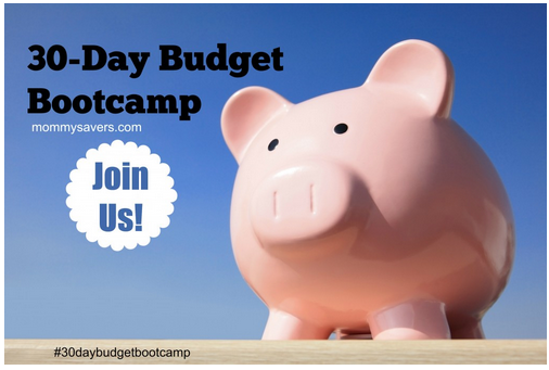 Join us for a FREE 30 Day Budget Bootcamp and get your finances in order