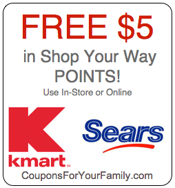 Free Shop Your Way Points