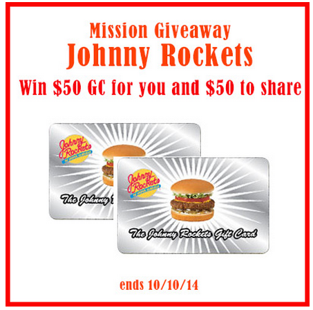 Johnny Rockets Giveaway