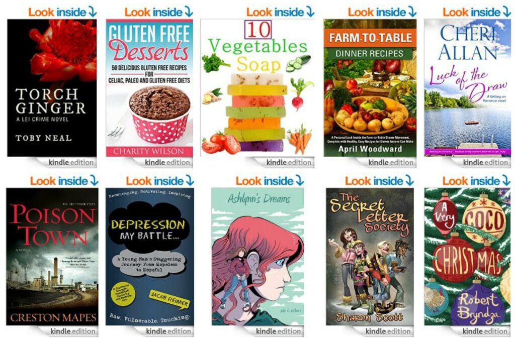 10 Free Kindle Books 10-21-14